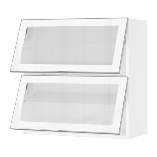 Kitchen Cabinets Guelph: IKEA Sektion Horizontal Frosted Glass Wall Cabinet