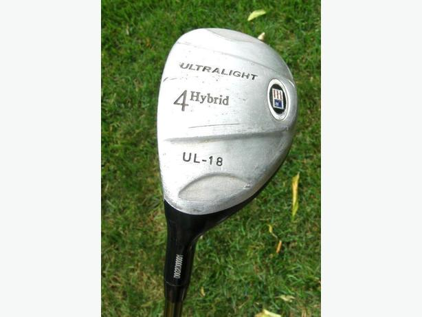 USKG Ultralight UL-18 JUNIOR Left Hand #4 Hybrid Golf Club VGC
