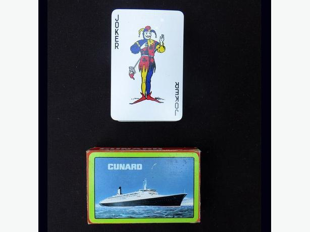Cunard QE2 Playing Cards