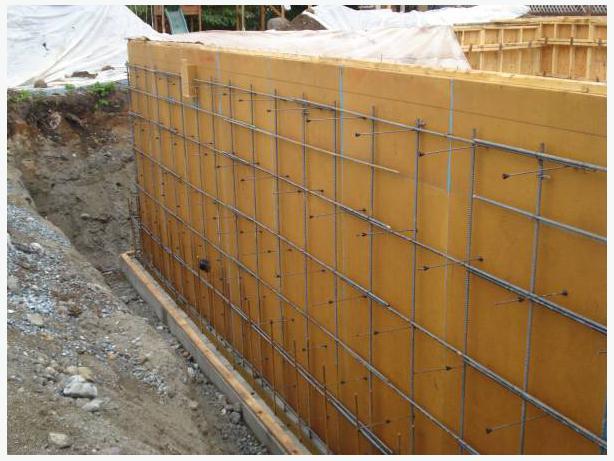 Used pre built x wooden concrete form panels
