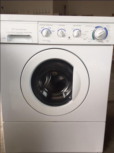 Frigidaire Gallery Front Load Washer Dryer Combo Energy
