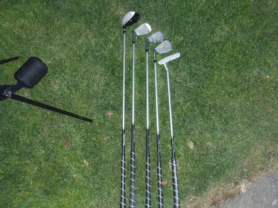Power Bilt Junior Silver Series Golf Club Set Central Nanaimo Nanaimo
