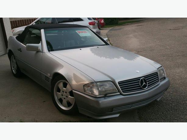 for sale 1994 mercedes benz 500 sl 2 door convertible sports car west regina regina. Black Bedroom Furniture Sets. Home Design Ideas