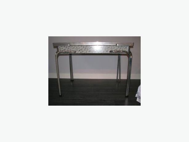 Formica & Chrome Dinette (or Desk)