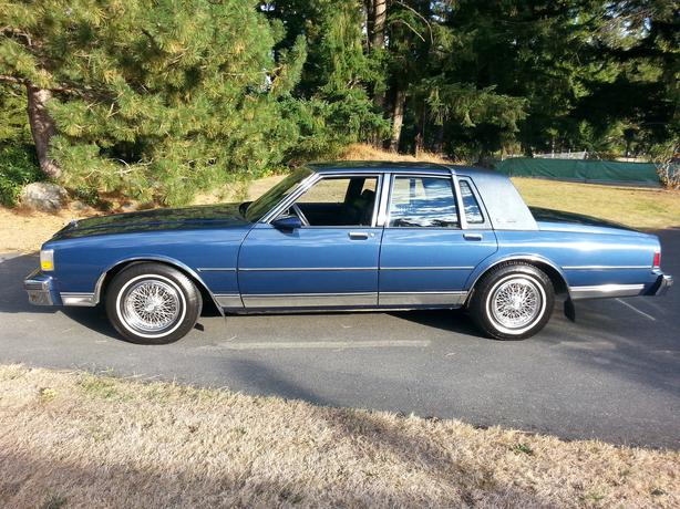 Clearwater Used Chevrolet >> OR TRADE 89 Caprice Classic Brougham LS Cedar, Nanaimo - MOBILE