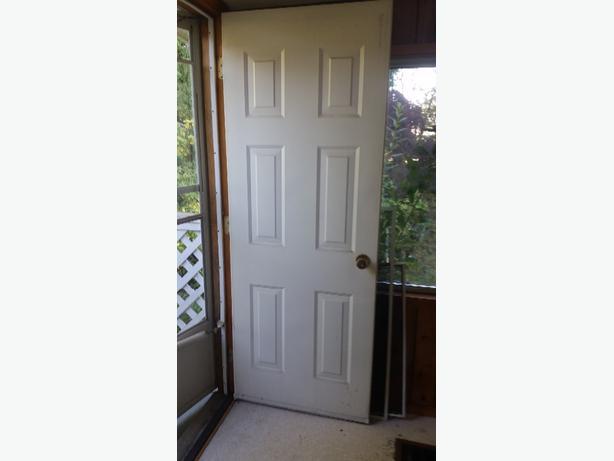 2 Ft 6 Inch Steel Slab Exterior Residential Door West