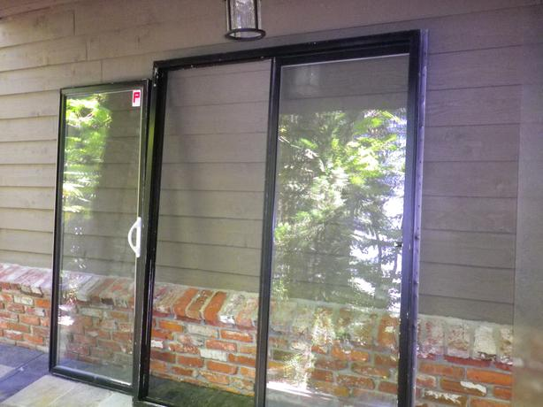 five foot sliding glass door saanich victoria