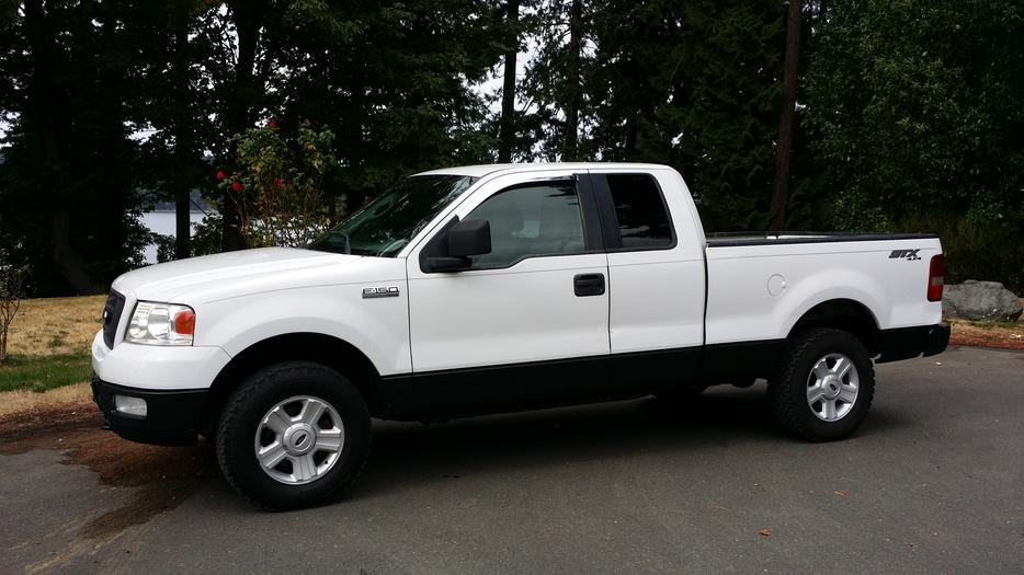 2005 ford f150 stx 4x4 auto 4 6 170kms outside cowichan. Black Bedroom Furniture Sets. Home Design Ideas