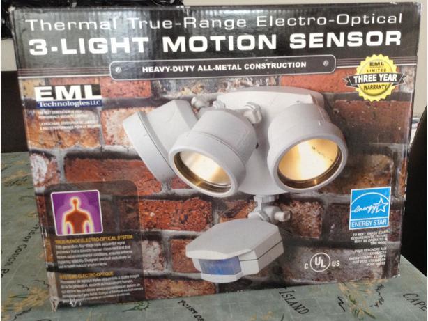 EML Technologies Motion Sensor Outdoor Lights West Shore Langford Colwood Me
