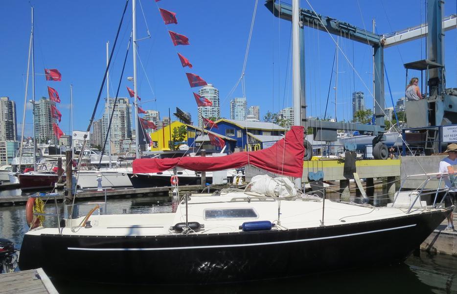 Obo 1980 san juan 7 7 sailboat 25 8 39 long outside victoria for 7 summerland terrace