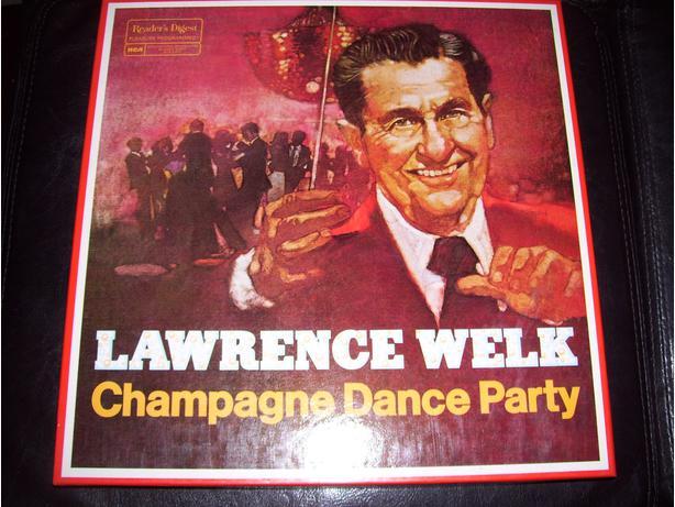 Lawrence Welk Champagne Dance Party 8 Lp Box Set 1978