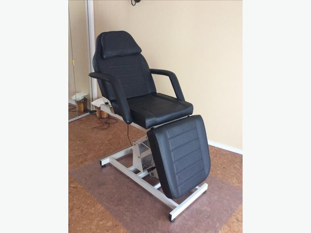 Hydraulic Massage Bed : Black hydraulic facial massage bed chair for spa qualicum