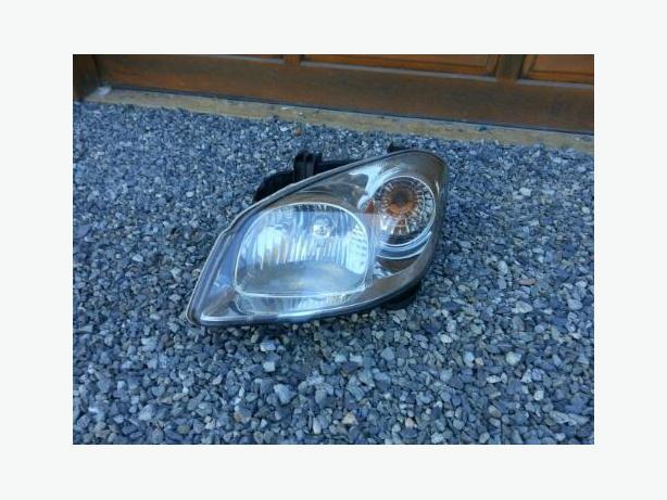 Drivers side Head& signal light