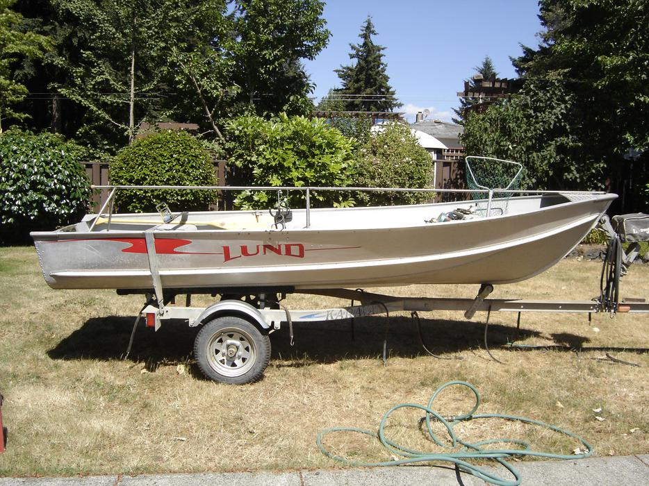 14ft lund fishing package west shore langford colwood Aluminum boat and motor packages