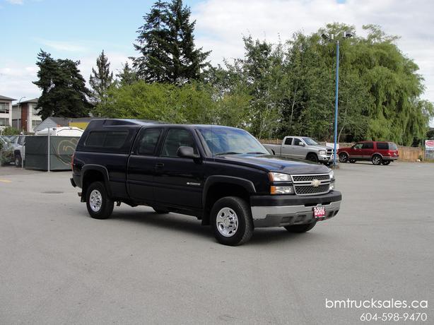 Chevrolet Silverado 2500hd Gatineau >> 2005 CHEVROLET SILVERADO 2500HD LS EXT CAB SHORTBOX 2WD 8.1L VORTEC V8 Surrey (incl. White Rock ...