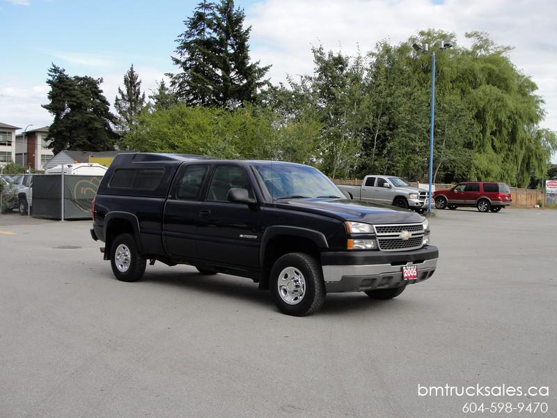 Chevrolet Silverado 2500hd Gatineau >> 2005 CHEVROLET SILVERADO 2500HD LS EXT CAB SHORTBOX 2WD 8.1L VORTEC V8 Surrey (incl. White Rock ...