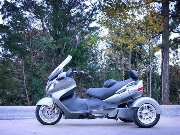 Convert Your Suzuki Burgman to a Trike