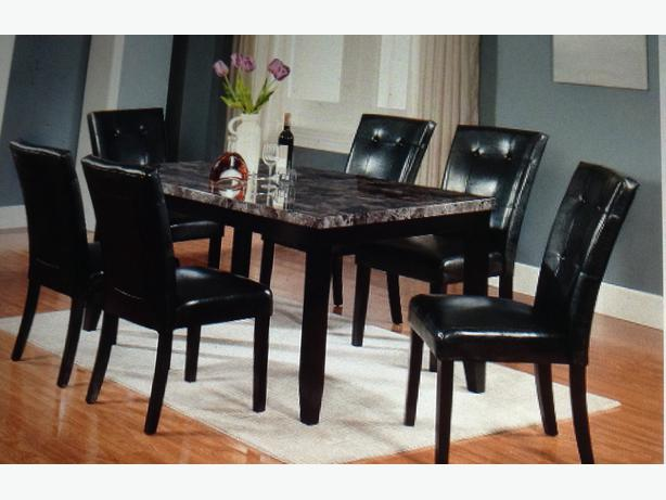 Tahoe Faux Dining Set South West Calgary