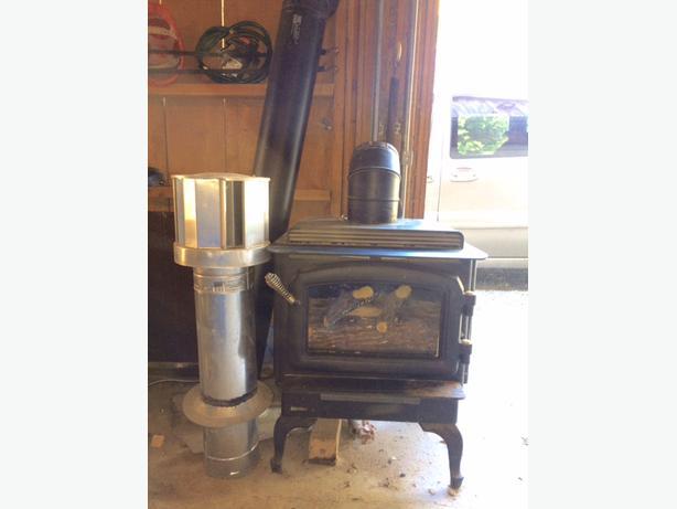 propane regency free standing fireplace cowichan bay cowichan