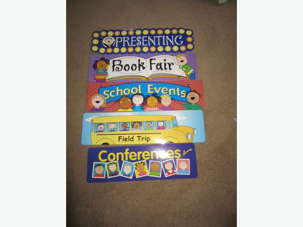 Teachers LOOK Classroom centres banners posters