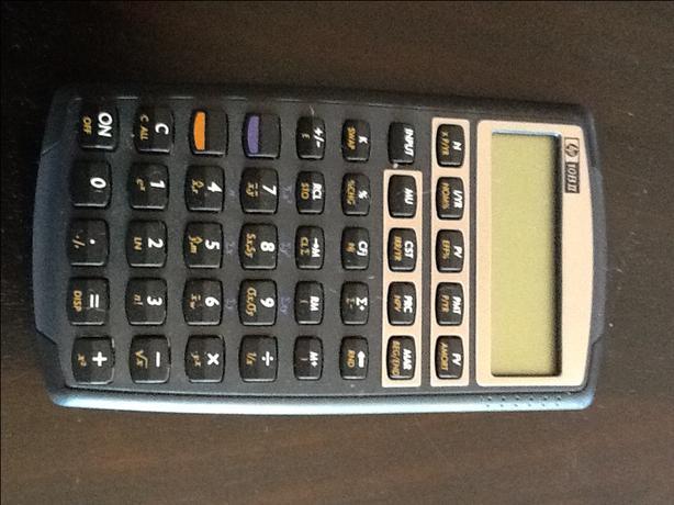 HP10BII Financial Calculator