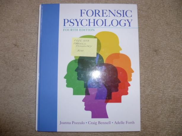 forensic psychology 4th edition pozzulo pdf