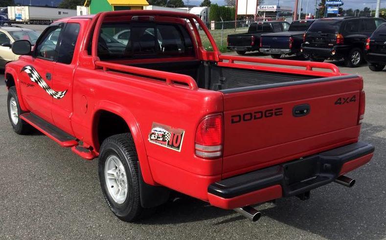 1999 Dodge Dakota 4x4 Sport Molson Indy Outside Victoria