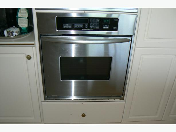 Kitchenaid Superba Ss Convection Wall Oven. 30u0026quot Kitchenaid Double  ...