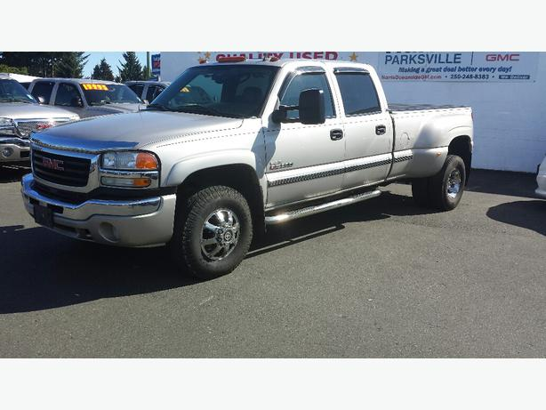 used 2007 gmc sierra dually classic slt for sale in parksville outside victoria victoria. Black Bedroom Furniture Sets. Home Design Ideas