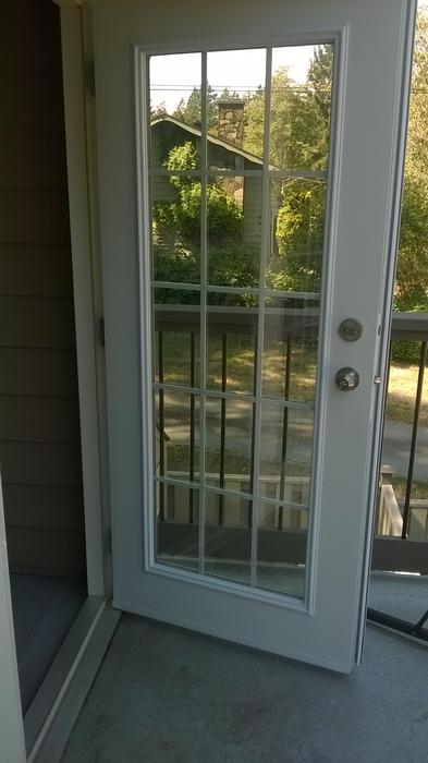 Exterior French Double Patio Door Saanich Victoria