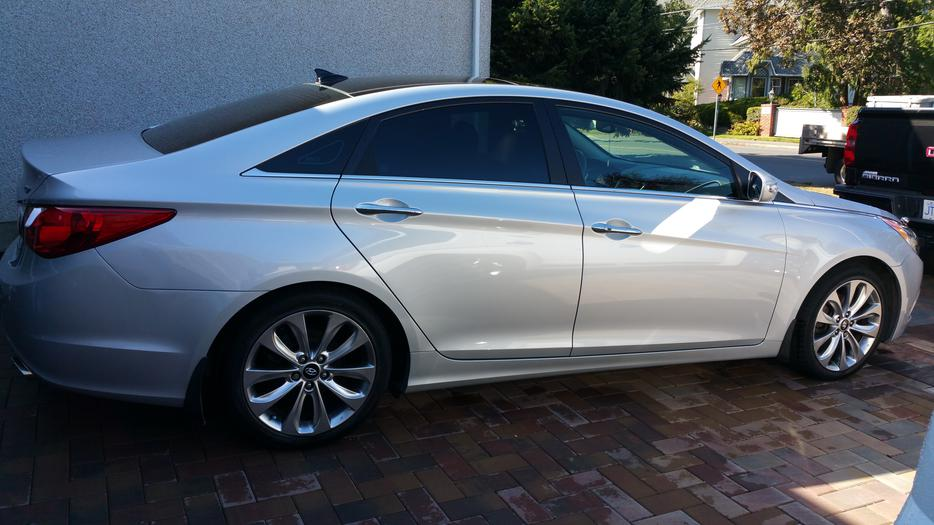 2012 Hyundai Sonata 2l Turbo Limited North Saanich