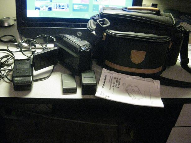 Panasonic  VHS Palmcorder