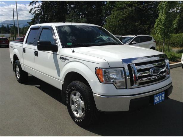 2012 ford f 150 4x4 xlt crew cab full power group duncan cowichan mobile. Black Bedroom Furniture Sets. Home Design Ideas
