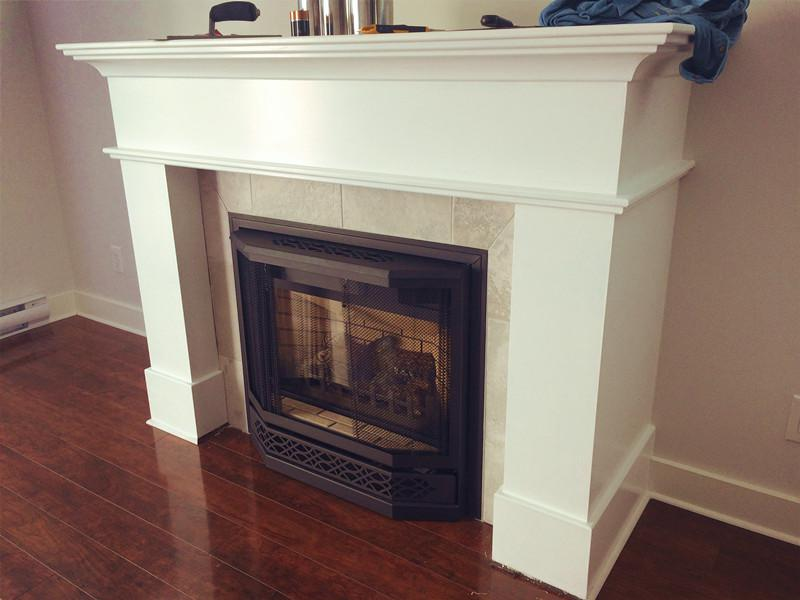 Napoleon Gd33nr Gas Fireplace With Mantel For Sale West Shore Langford Colwood Metchosin
