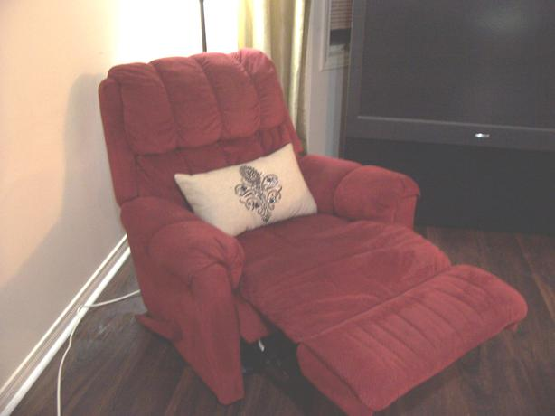 Great deal comfy red recliner chair for sale can deliver for Comfy chairs for sale