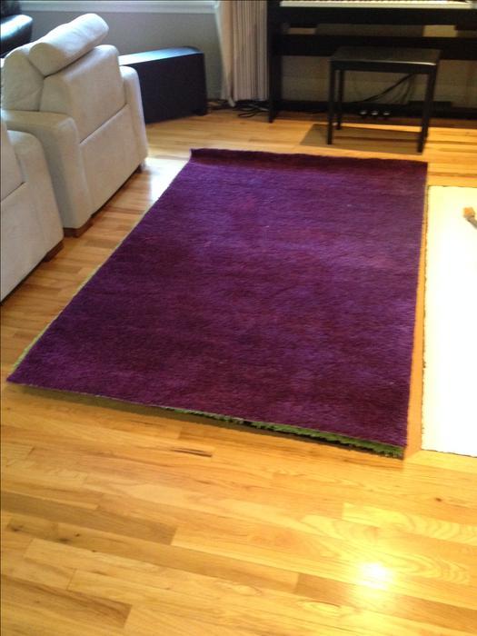 Ikea Purple Adum Rug Brand New Saanich Victoria Mobile