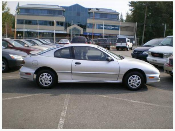 2002 pontiac sunfire coupe automatic surrey incl white. Black Bedroom Furniture Sets. Home Design Ideas