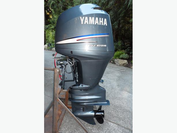 Yamaha 150 hp four stroke 2005 north saanich sidney for Best prop for 25 hp yamaha 2 stroke