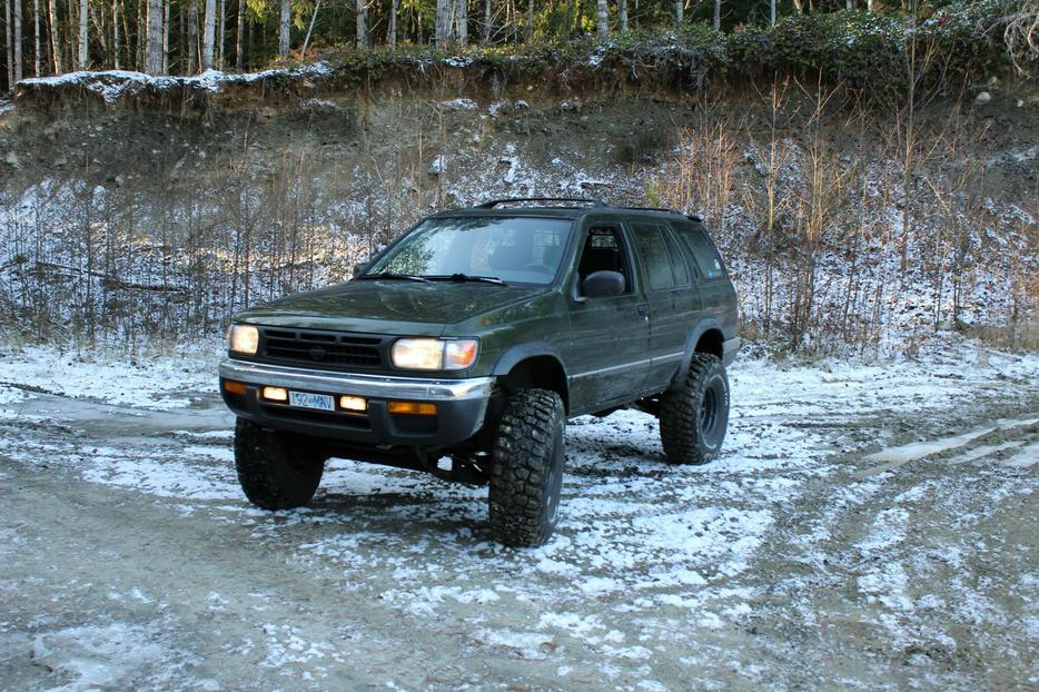 Central Valley Nissan >> Price Drop - 1997 Nissan Pathfinder lifted West Shore: Langford,Colwood,Metchosin,Highlands ...