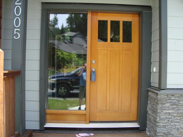 Brand New Exterior Fir Door With Side Light West Shore Langford Colwood Met