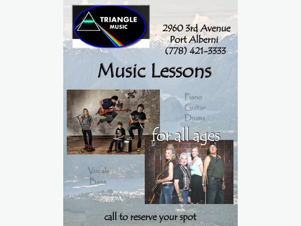 Music Lessons - Triangle Music 778-421-3333