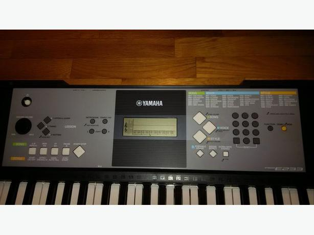 brand new yamaha psr e233 digital keyboard victoria city