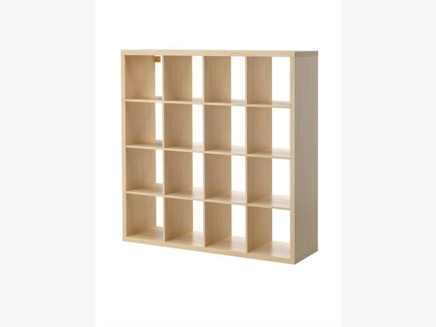 ikea kallax expedit birch 4x4 unit central saanich victoria. Black Bedroom Furniture Sets. Home Design Ideas