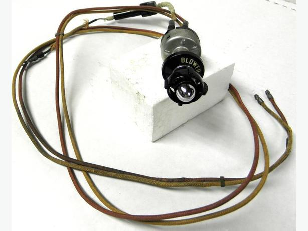 1954 Ford Crown Victoria Heater Blower Switch