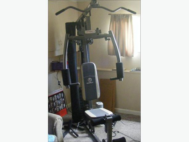 Home fitness gym impex mwm 983 manufacturer marcy for Home designs by marcy