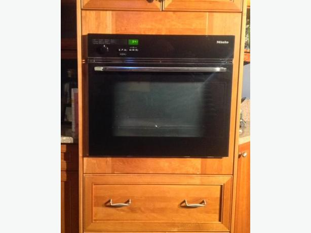 Miele high end 27 convection wall oven saanich for High end wall ovens