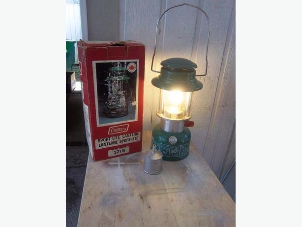 Coleman naphtha lantern