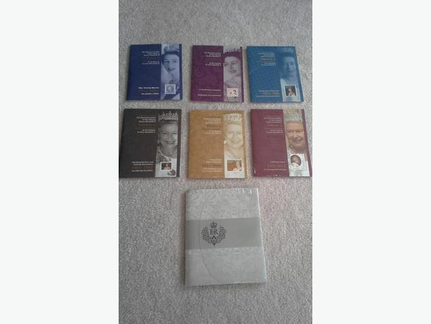 Complete set of Queen Elizabeth II Stamps