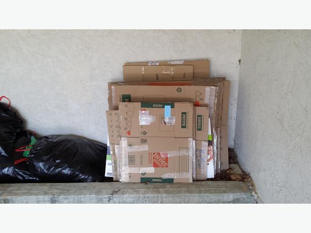 Moving Boxes Excellent Condition Victoria City Victoria