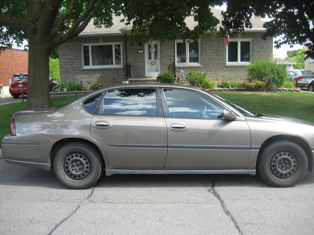 for sale 2003 chevrolet impala fully loaded central ottawa inside greenbelt gatineau. Black Bedroom Furniture Sets. Home Design Ideas